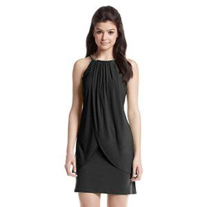 NWT Jessica Simpson Jewelled Halter Dress